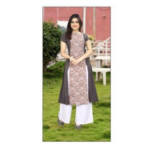 Brown Colored Kurti - FG1041