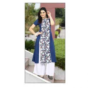 Dark Blue Colored Kurti - FG1041