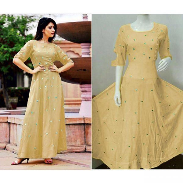 Beautiful Dress For Women - FB4005  Skin