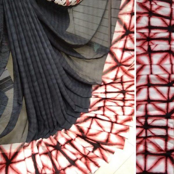 Black Colored Beautiful Sari - FB4016