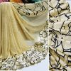 Beautiful Sari For Women - FB4018 |Light Beige