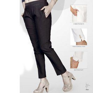 Black Stretchable Pencil Pants – MPP1119