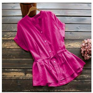 MPP1176 Pink Flex Cotton Top