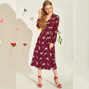 Crepe Short Dress - FG2435 | Magenta | CC - 10