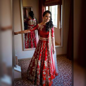 Banglori Silk Lehenga Choli -FG2450 | Red