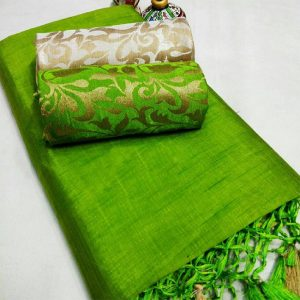 Kalkata Cotton Saree – MPP1450 | Green | CC-17