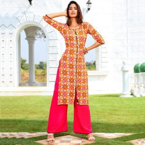 Rayon Embroidered Dress – FB4223 | Carrot