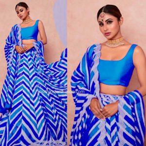 Taffeta Silk Lehanga Choli – MPP1504 | Blue