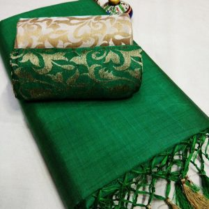 Kalkata Cotton Saree – MPP1450 | Green | CC-15