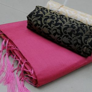 Kalkata Cotton Saree – MPP1450 | Pink | CC-14