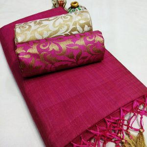 Kalkata Cotton Saree – MPP1450 | Purple | CC-05