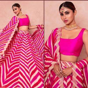 Taffeta Silk Lehanga Choli – MPP1504 | Pink
