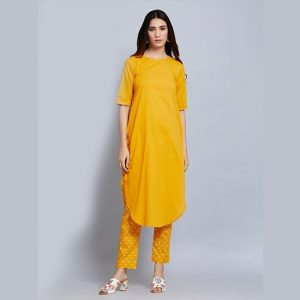 Fancy Rayon Kuti – MPP1445 | Yellow