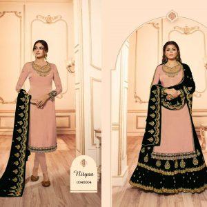 Satin Semi Stitch Dress – FB4214   Tea Pink