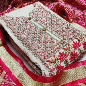 Chandri Dress Material - MPP1467   Pink