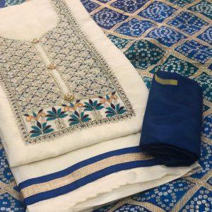 Chandri Dress Material - MPP1467   Blue