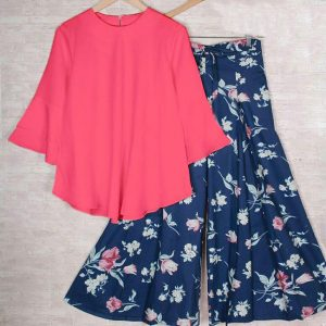 Rayon Top&Plazzo - FB4225   Pink   CC-04