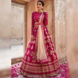 Embroidered Lehanga Choli&Dupatta - FG2612 | Pink