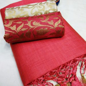 Kalkata Cotton Saree – MPP1450 | Carrot | CC-02