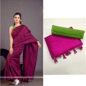 Soft silk Saree - FG2684   Purple