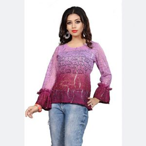 Imported Fabric Tops - FG2666 | Purple | CC-06
