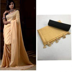 Soft silk Saree - FG2684   Skin