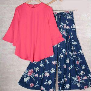 Rayon Stitch Top&Plazzo - FB4260 | Pink | CC-10
