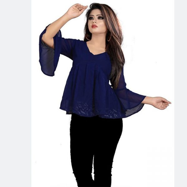 Imported Fabric Tops - FG2666 | Blue | CC-01