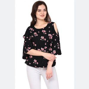 Silk Base Imported Tops - FG2628 | Black | CC-04