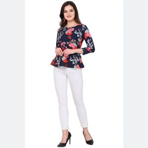 Silk Base Imported Tops - FG2628 | Multi | CC-10