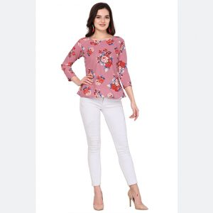Silk Base Imported Tops - FG2628 | Pink | CC-14