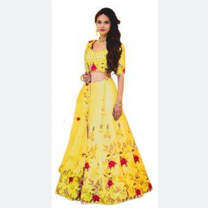 Banglori Lehanga Blouse&Dupatta - MPP1573 | Yellow
