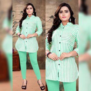 Cotton Flex Tops - FG2670 | Green