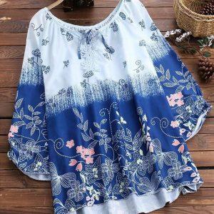 Cotton Flex Top - FG2734 | Blue | CC-34