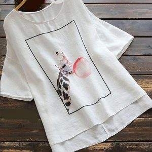 Cotton Flex Top - FG2734 | White | CC-08