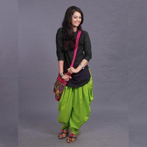 Rayon Kurti Patiyala Dhoti - FG2702 | Green