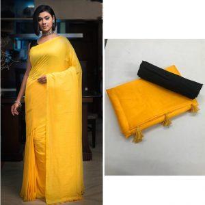 Soft silk Saree - FG2684   Yellow