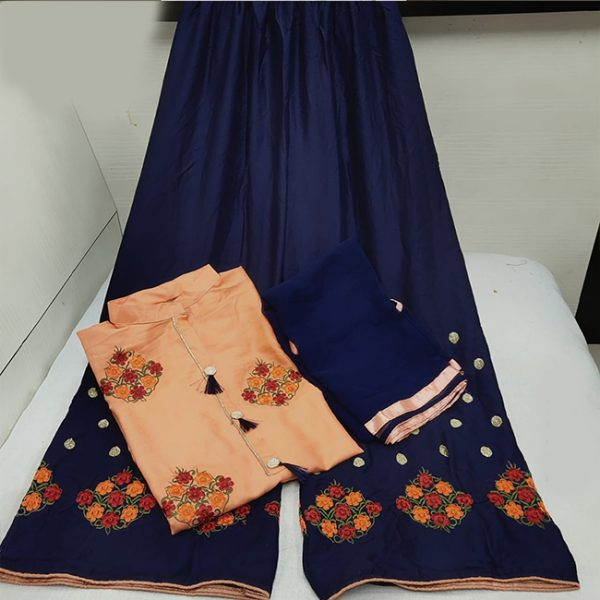 Rayon Stitch Dress - MPP1634   Peach   CC-08