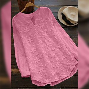 Cotton Flex&Net Top - FG2846 | Pink | CC-05
