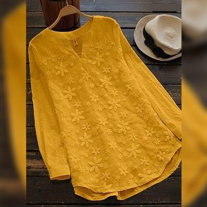 Cotton Flex&Net Top - FG2846 | Yellow | CC-07