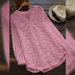 Cotton Flex&Net Top - FG2846 | Pink | CC-01