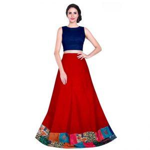 Taffeta Silk Semi Stitch - FG2909 | Red