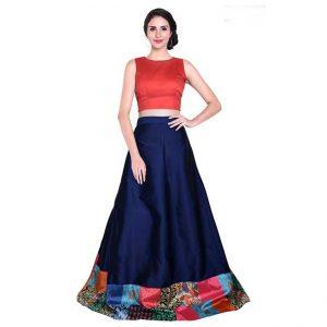 Taffeta Silk Semi Stitch - FG2909   Blue