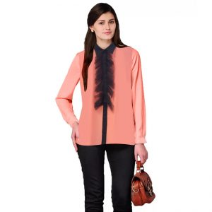 High Quality Top For Women - NOW1127 | Peach