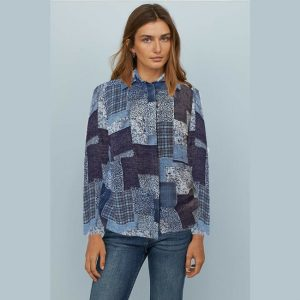 Stylish Full Sleeve Top - NOW1138 | Blue