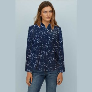 Stylish Full Sleeve Top - NOW1148 | Blue