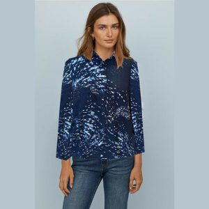 New Stylish Full Sleeve Top - NOW1149 | Blue