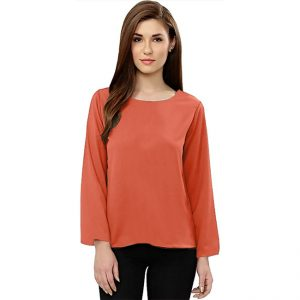 Full Sleeve Stylish Top – NOW1170 | Orange