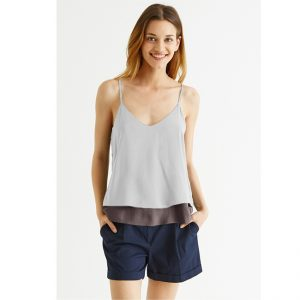 Thin Strap Summer Top – NOW1173 | Gray