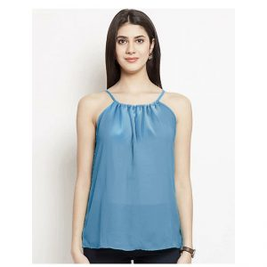 Thin Strap Summer Top– NOW1177 | Blue